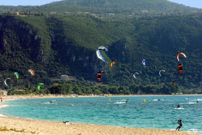 Kite Surf at Ai Yannis Beach