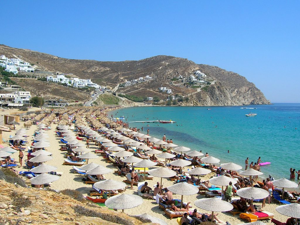 Elias beach, Mykonos
