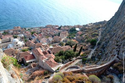 """Monemvasia"" by E.Fili, courtesy of GNTO, www.visitgreece.gr"