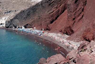RED BEACH, SANTORINI, CYCLADES (1)