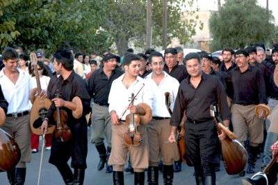 CRETAN PEOPLE, CHANIA, CRETE