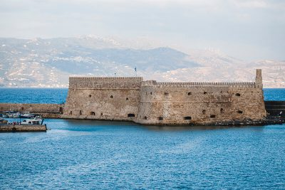 Heraklion Bay, Crete, Greece - -