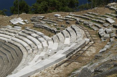 Thassos Theatre, Eastern Macedonia-Thrace, Greece